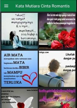 Kata Mutiara Cinta Romantis apk screenshot