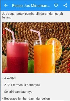 Resep Jus Minuman Sehat screenshot 4