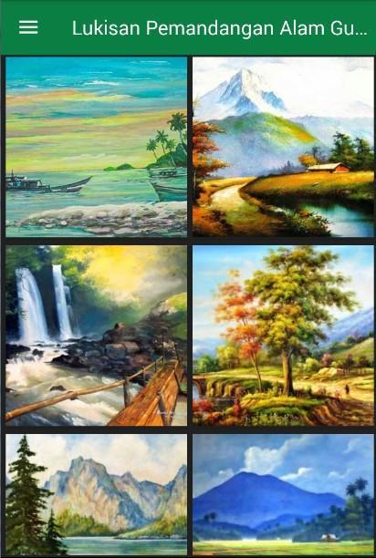 81 Koleksi Gambar Pemandangan Alam Untuk Melukis HD