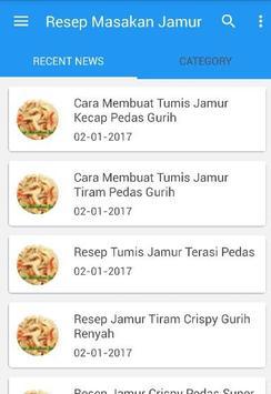 Resep Masakan Jamur poster
