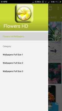Flowers Hd Wallpapers Full Size apk screenshot