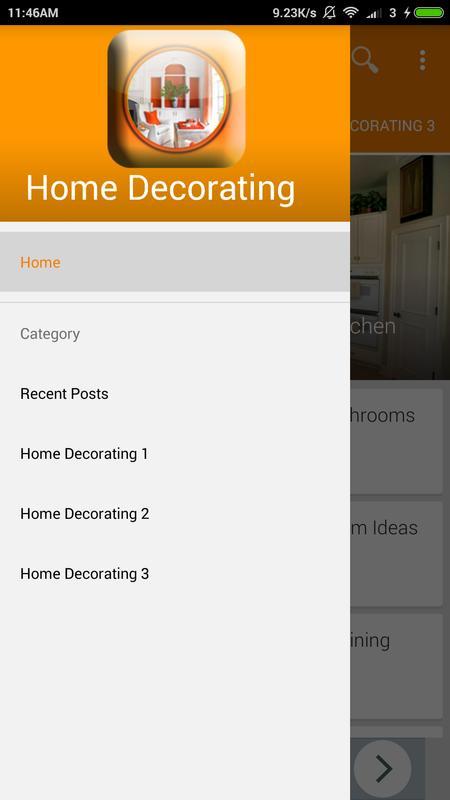 Home Decorating Ideas الملصق
