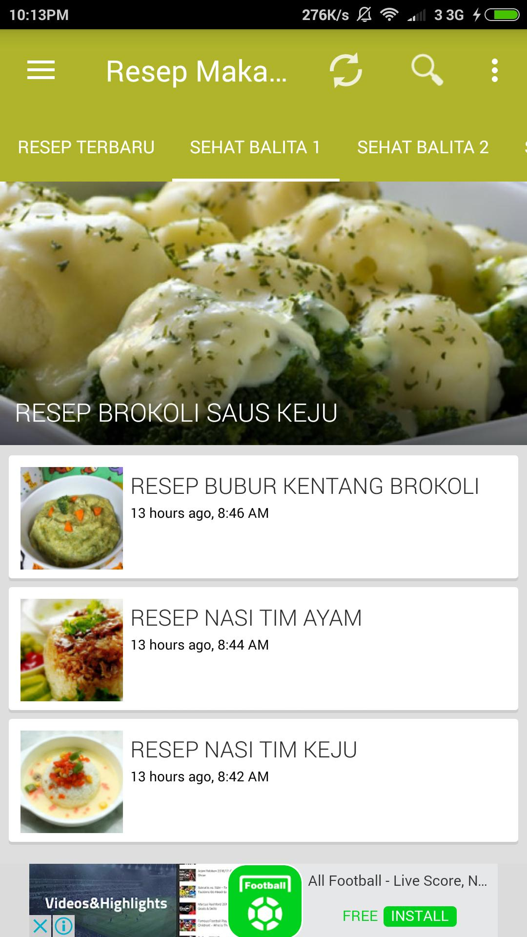 Resep Makanan For Android Apk Download