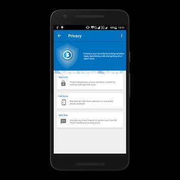 Bunifu Mobile Security 2.0 screenshot 3