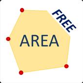 Icona Map Area Measure
