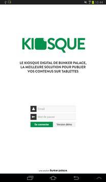 Kiosque Bunker Palace apk screenshot