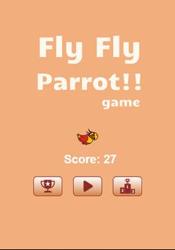 Fly Fly  Parrot poster