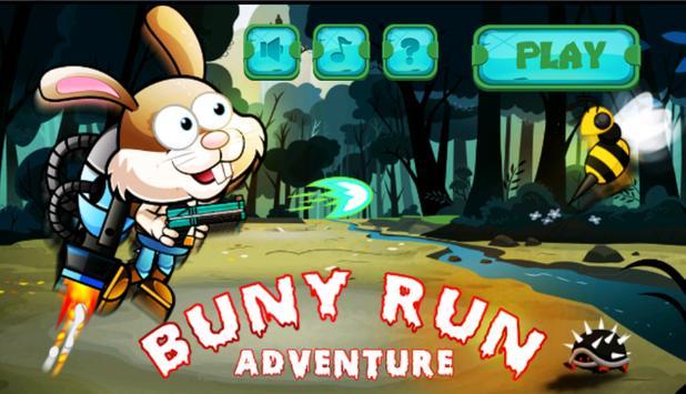 Buny Run Adventure poster