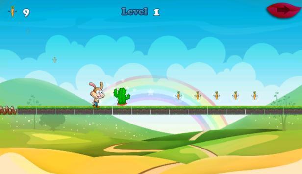 Buny Run Adventure apk screenshot
