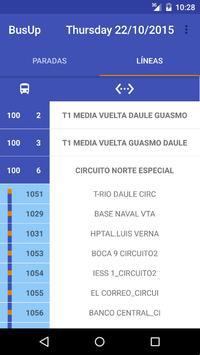 BusUP Metrovía screenshot 2
