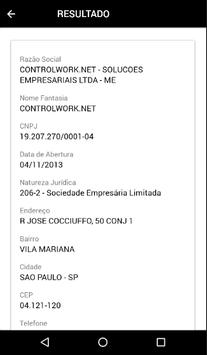 Busca CNPJ screenshot 1