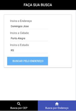 Busca CEP screenshot 1