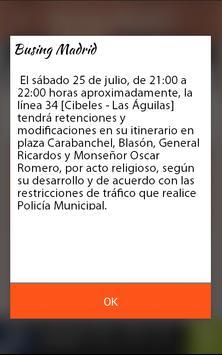 Busing Madrid screenshot 3