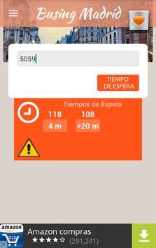 Busing Madrid poster