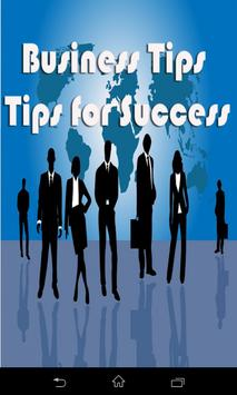 Business and Marketing Tips poster