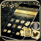 Black Gold Theme icon