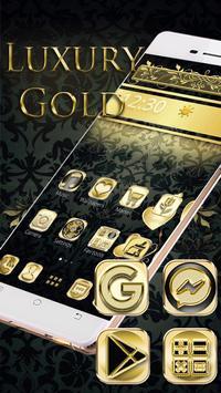 Black Gold Theme screenshot 2