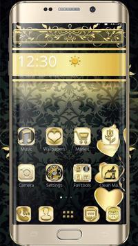 Black Gold Theme screenshot 3