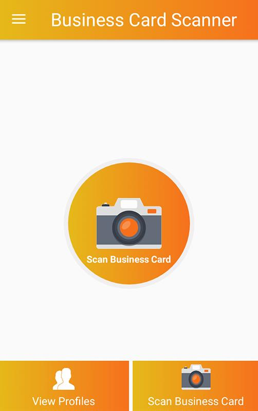 Business card scanner for android apk download business card scanner poster reheart Image collections