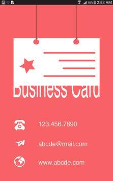 Business card creator apk business card creator apk reheart Choice Image