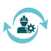 Business Shift Worker icon