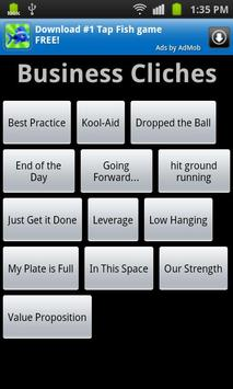 Business Cliche Soundboard poster