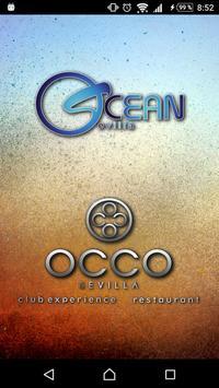 OCEAN/OCCO SEVILLA poster