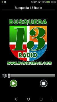 Busqueda 13 Radio poster