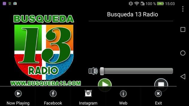 Busqueda 13 Radio screenshot 2