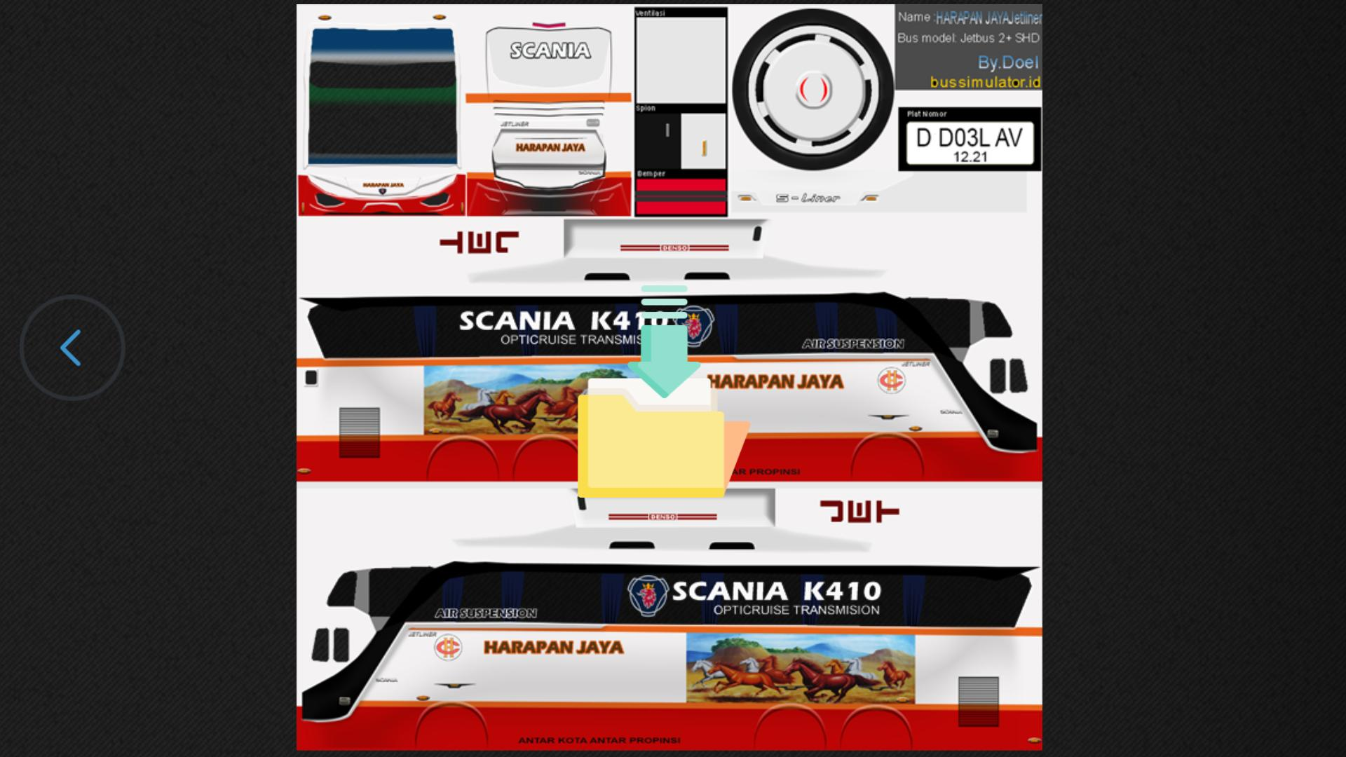 Livery Shd Harapan Jaya For Android Apk Download