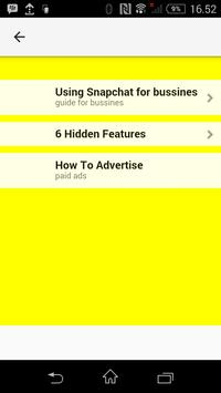 Bussines in snapchat poster