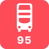 My London TFL Bus Times - 95 icon