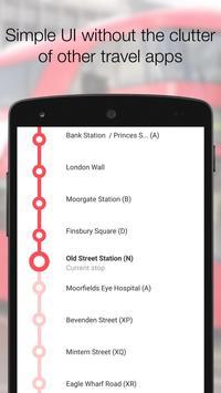 My London TFL Bus Times - 95 screenshot 2