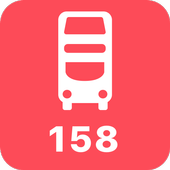 My London TFL Bus Times - 158 icon