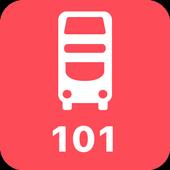 My London TFL Bus Times - 101 icon