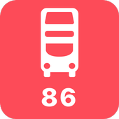 My London TFL Bus Times - 86 icon