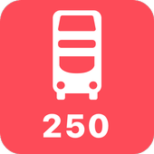 My London TFL Bus Times - 250 icon