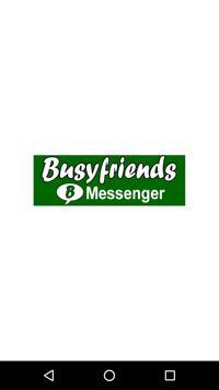 Busyfriends Messenger poster
