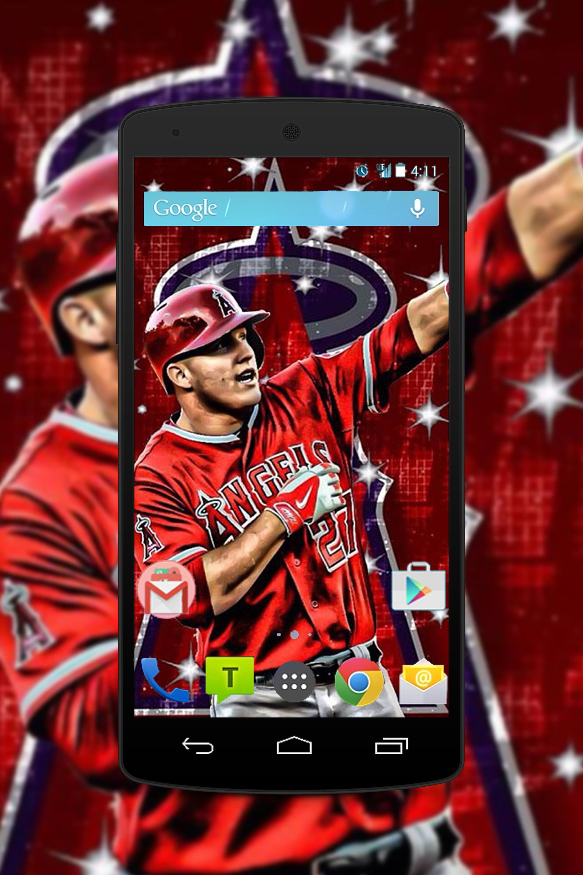 Mike Trout Wallpapers Hd For Android Apk Download