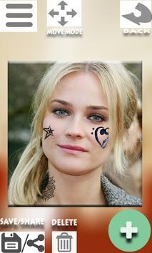 Tattoo My Face apk screenshot