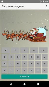 Christmas Hangman poster