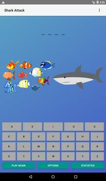 Hangman (Shark Attack) apk screenshot