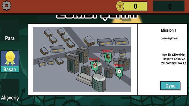 Zombi Şehri screenshot 1