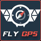 Fly GPS joystick. icon