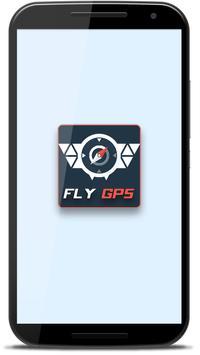 Fly GPS joystick. poster