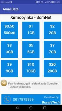 Amal Data screenshot 1