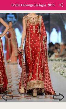 Bridal Lehenga Designs 2018 screenshot 7