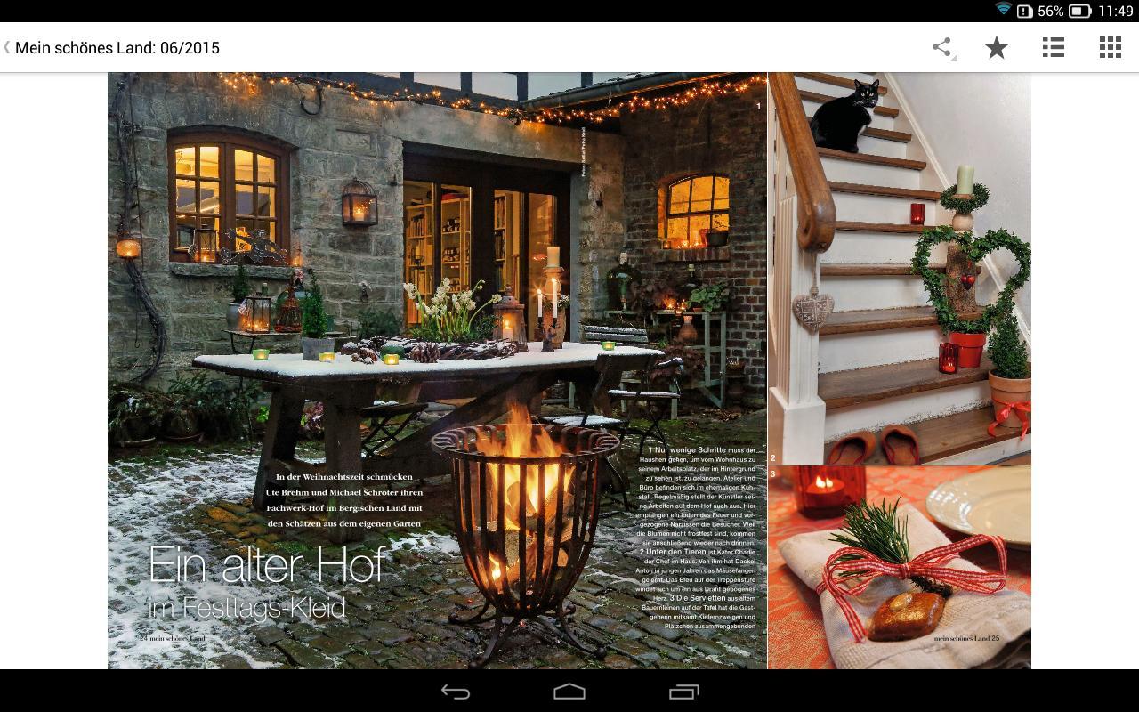 mein sch nes land magazine apk download gratis gaya. Black Bedroom Furniture Sets. Home Design Ideas