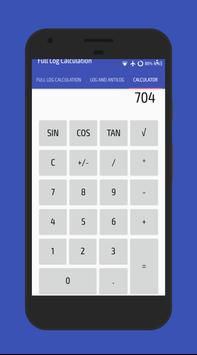 Log And AntiLog Calculator apk screenshot