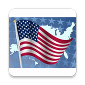 Flags of the USA icon